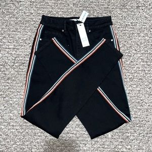 BB Dakota Stay Cool Jeans W  Stripe In Black 24